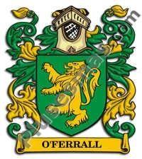 Escudo del apellido Oferrall