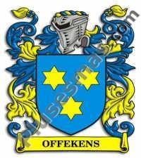 Escudo del apellido Offekens