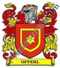 Escudo del apellido Offerl