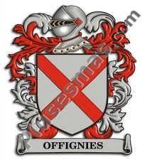 Escudo del apellido Offignies