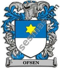 Escudo del apellido Ofsen