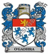 Escudo del apellido Ogadhra