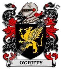 Escudo del apellido Ogriffy