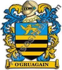 Escudo del apellido Ogruagain