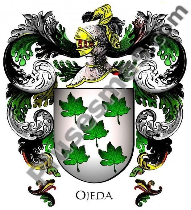 Escudo del apellido Ojeda