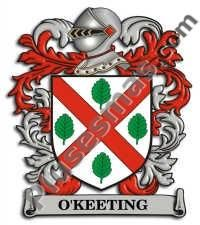 Escudo del apellido Okeeting