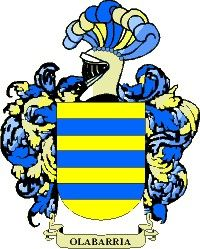 Escudo del apellido Olabarria