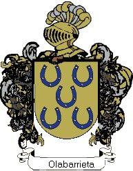 Escudo del apellido Olabarrieta