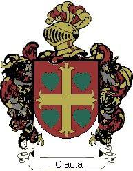 Escudo del apellido Olaeta