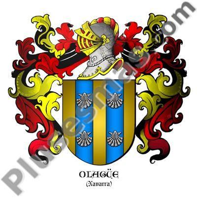 Escudo del apellido Olagüe