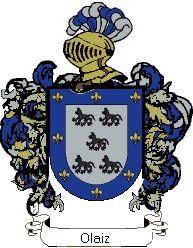 Escudo del apellido Olaiz