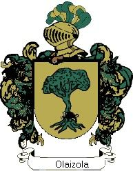 Escudo del apellido Olaizola