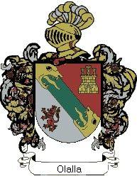 Escudo del apellido Olalla