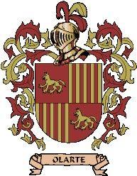 Escudo del apellido Olarte
