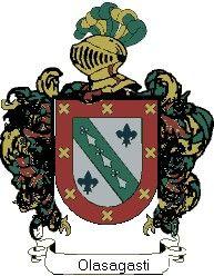Escudo del apellido Olasagasti
