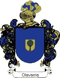 Escudo del apellido Olavarria