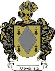 Escudo del apellido Olavarrieta