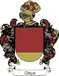 Escudo del apellido Olaya