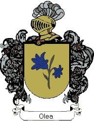 Escudo del apellido Olea