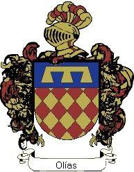 Escudo del apellido Olías