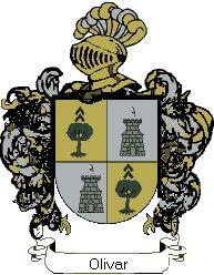 Escudo del apellido Olivar