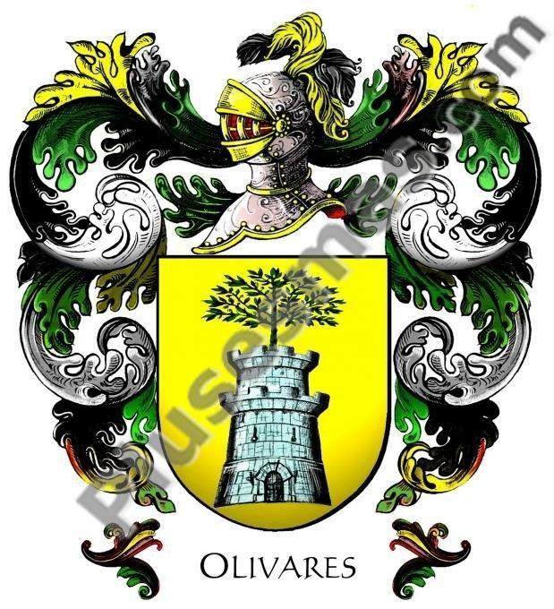 Escudo del apellido Olivares