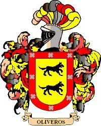 Escudo del apellido Oliveros