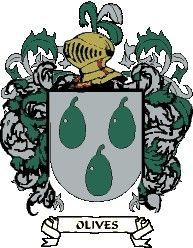 Escudo del apellido Olives