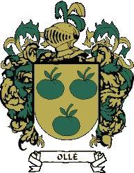 Escudo del apellido Ollé