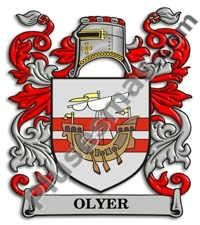 Escudo del apellido Olyer