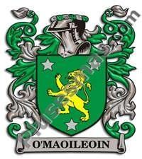 Escudo del apellido Omaoileoin