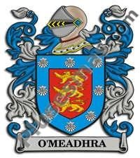 Escudo del apellido Omeadhra