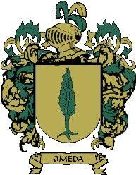 Escudo del apellido Omeda