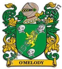 Escudo del apellido Omelody