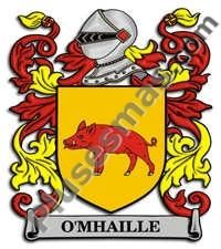 Escudo del apellido Omhaille