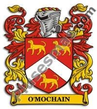 Escudo del apellido Omochain