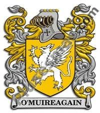Escudo del apellido Omuireagain