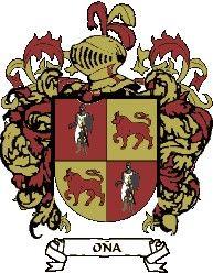 Escudo del apellido Oña