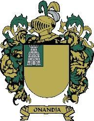 Escudo del apellido Onandía