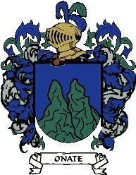 Escudo del apellido Oñate
