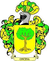 Escudo del apellido Oncina