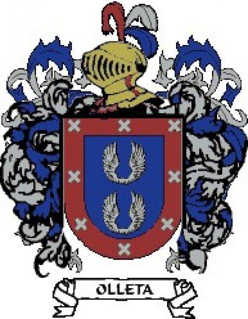 Escudo del apellido Olleta