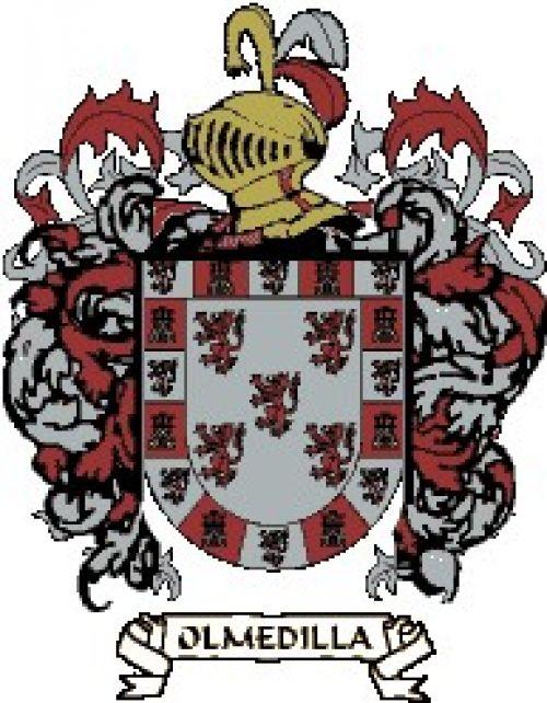 Escudo del apellido Olmedilla