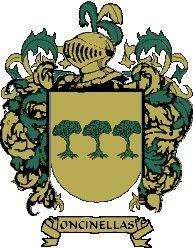 Escudo del apellido Oncinellas