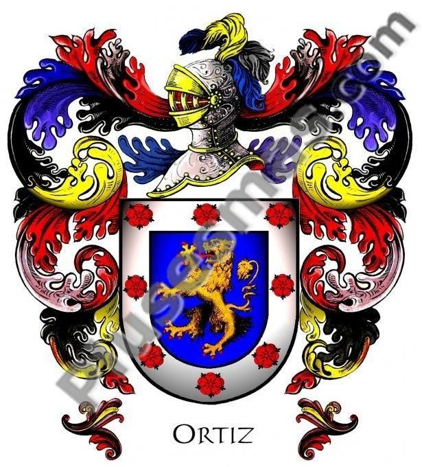 Escudo del apellido Ortiz
