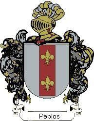 Escudo del apellido Pablos