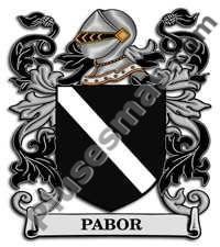 Escudo del apellido Pabor