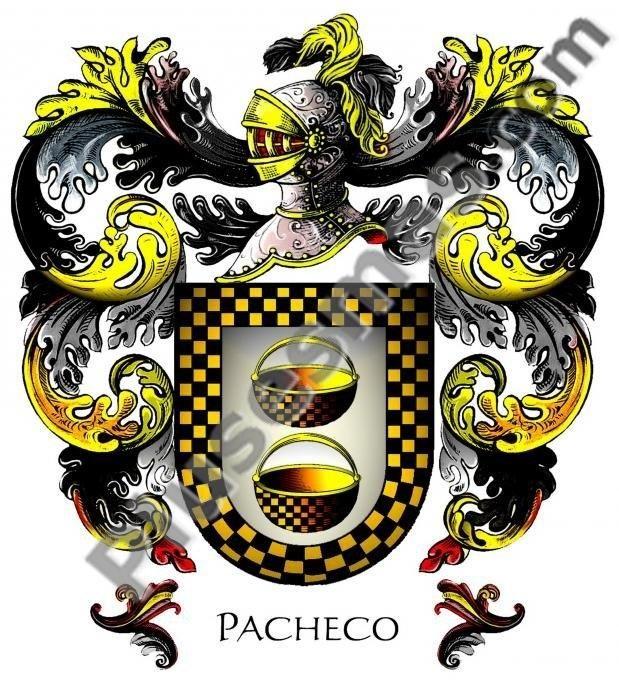 Escudo del apellido Pacheco