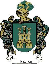 Escudo del apellido Pachón