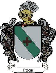 Escudo del apellido Pacín